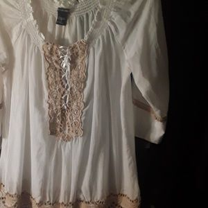 Boston proper nwot tunic small to med